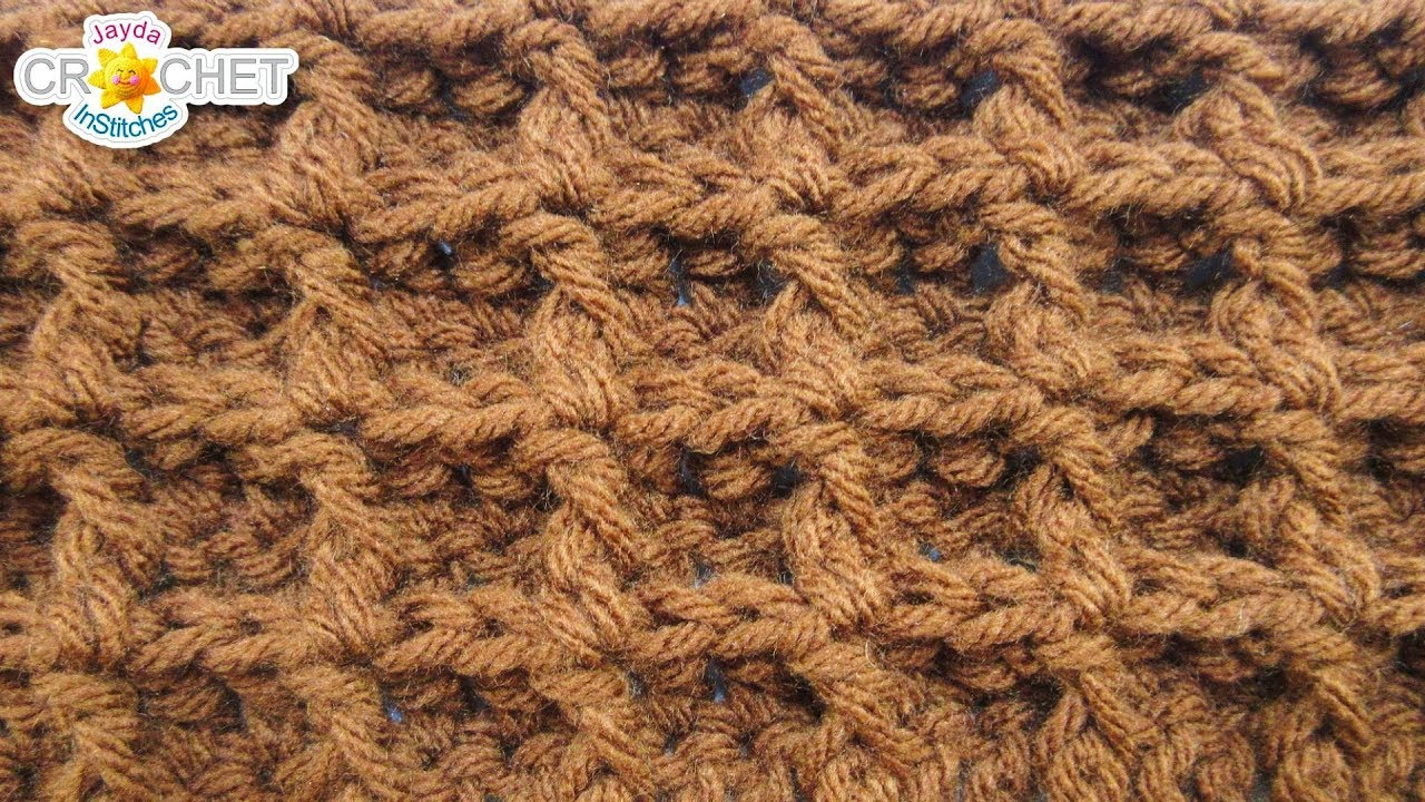 Waffle Stitch Calendar Blanket September Youtube