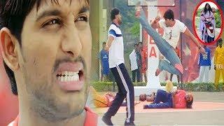 Allu Arjun High Voltage Action Scene Unseen Video   Allu Arjun   Allu Arjun Fights   Telugu Videos