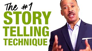 The #1 Storytelling Technique In Public Speaking To Captivate Your Audience