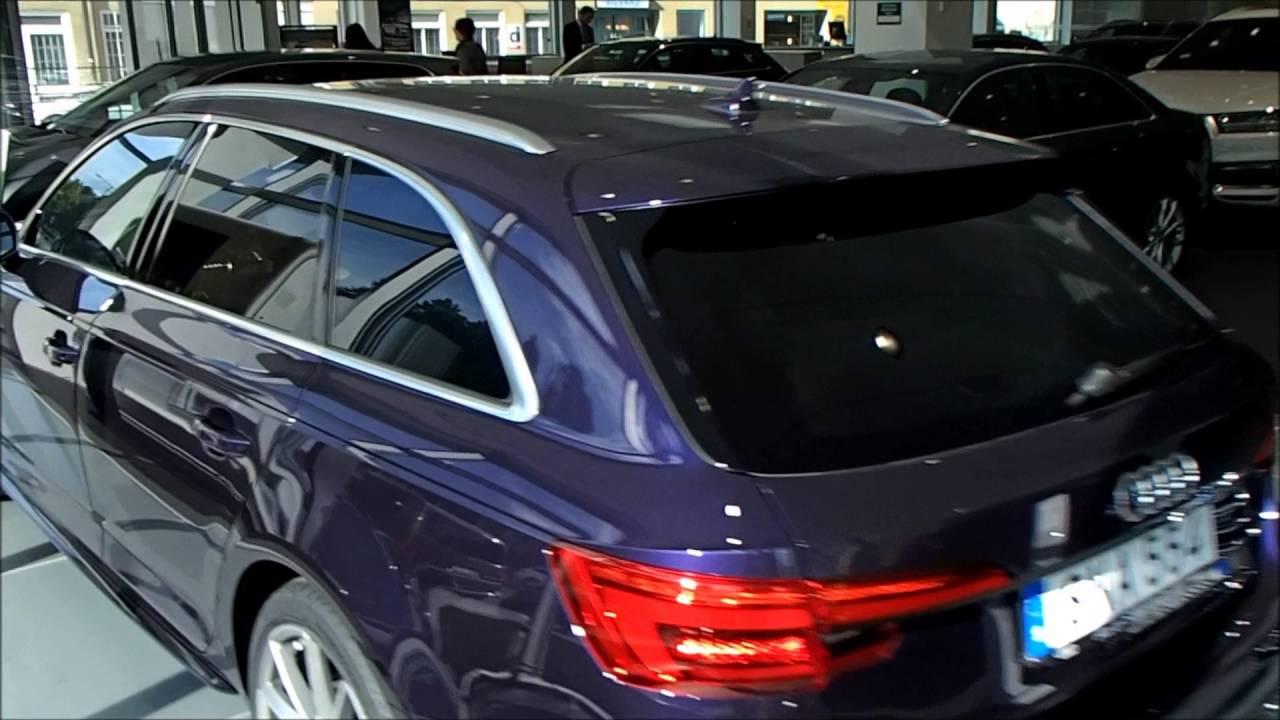 Audi A4 2017 Interior >> Merlin Purple 2017 Audi A4 B9- Audi exclusive (walkaround) - YouTube