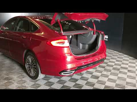 Red 2017 Ford Fusion Titanium Review Edmonton Alberta - Lexus of Edmonton