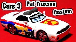 Pixar Cars 3 Custom Pat Traxson by Rod Torque Redline Miss Fritter Mater & Primer Lightning McQueen