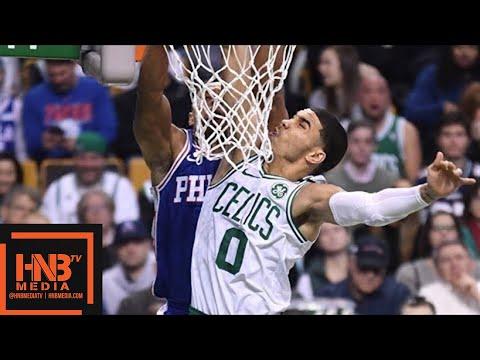 Boston Celtics vs Philadelphia Sixers 1st Half Highlights / Jan 18 / 2017-18 NBA Season