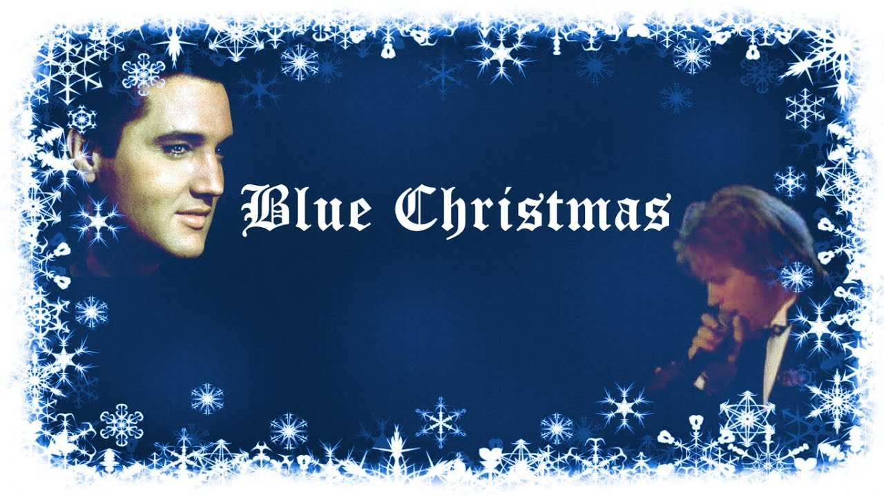 elvis presley jon bon jovi blue christmas mix lyrics - Blue Christmas Elvis Presley Lyrics