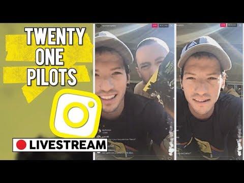 JOSH'S INSTAGRAM LIVESTREAM - (Full Stream) Twenty One Pilots Trench