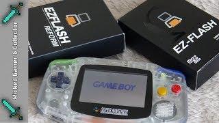 "Game Boy Advance - "" EZ Flash Reform vs. Omega  - Ultimate Flash Cart Comparison / Nintendo GBA"