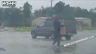 People Caught Looting Stores During Hurricane Harvey