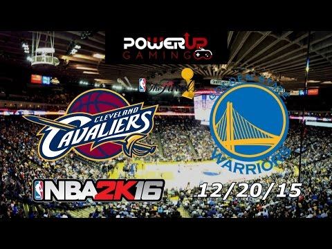 NBA2K16 Tournament Final - 12/20/15 - Cavaliers VS Warriors