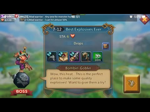 Lords Mobile Normal 7-12