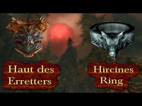 Die besten Rüstungen Skyrims - Ring von Hircine UND Haut des Erretters bekommen!