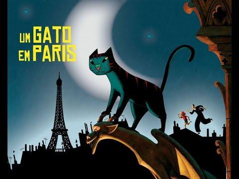 [Dublado] Assista ao filme Um Gato Em Paris (2010)
