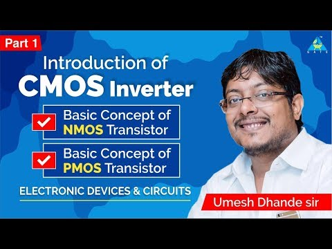 CMOS Inverter (Part-1) | Electronic Devices & Circuits