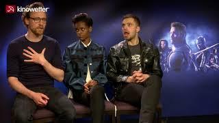 Baixar Interview Tom Hiddleston,  Letitia Wright, Sebastian Stan AVENGERS: INFINITY WAR