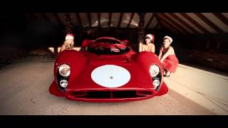 Ferrari 330 P4 #0858 with the naughty elves at Talacrest