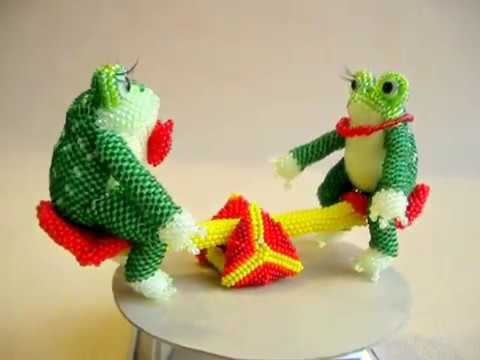игрушки из бисера схемы и фото