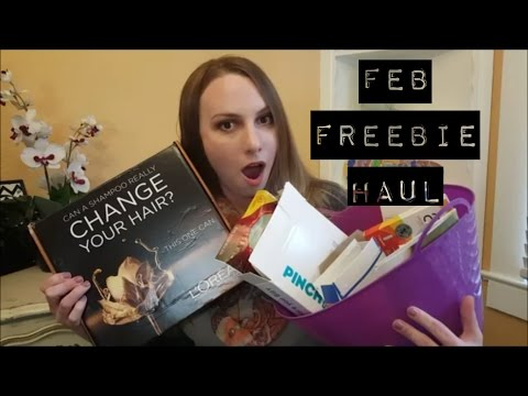 How to get free samples in the mail + My Feb 2016 haul