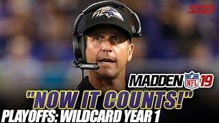Madden NFL 19 Franchise | Wildcard Playoffs | Ep.18