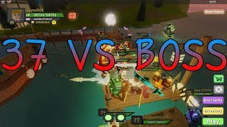 ROBLOX : Dungeon Quest : 37 VS BOSS