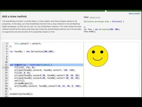 Khan Academy SmileyFace Challenge
