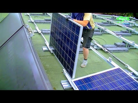 HOW TO INSTALL HOME SOLAR SYSTEM IN DETAIL |MOUNT STANDS+CELLS+HOOK UP POWER WIRES ON ROOF PV ARRAY