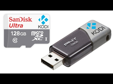 How To Make Kodi Run from USB Flash Drive Stick 2017