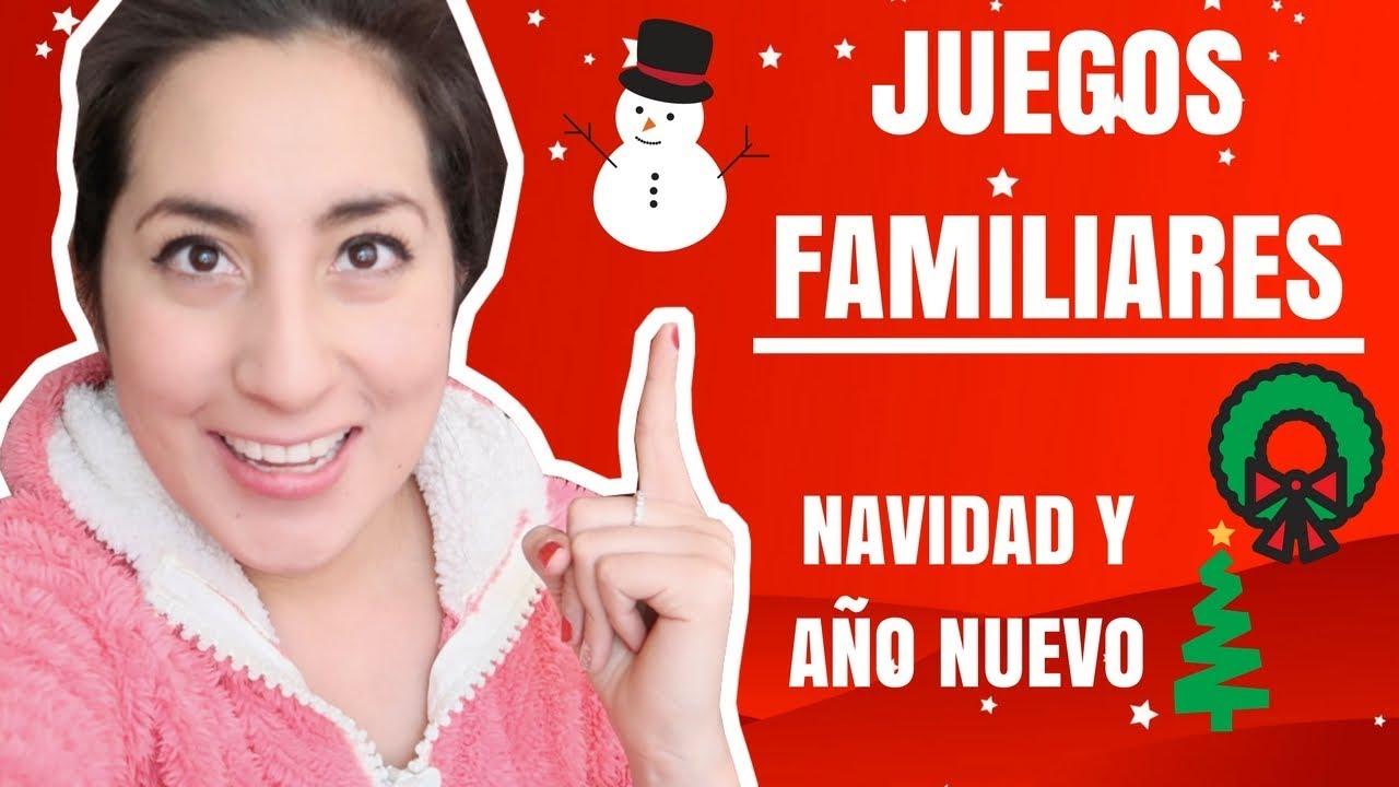 Juegos Familiares Para Navidad Video Y Explicacion Youtube