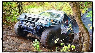 █  УАЗ vs Suzuki Vitara vs Нива vs Land Rover Defender/ Скольжение [Off-Road 4x4 RFC Ukraine].