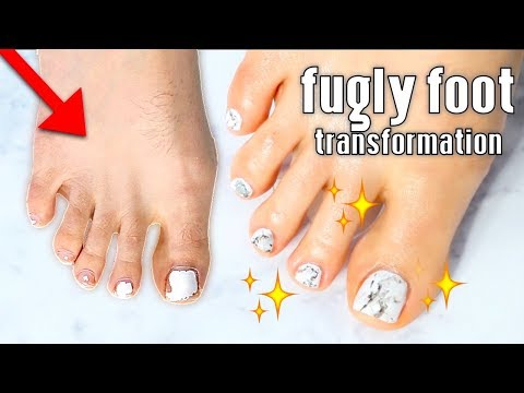 FUGLY to FAB | Pedicure Transformation