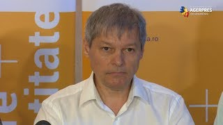Cioloş: Platforma România 100 a depus un denunţ penal la Parchet legat de evenimentele din 10 august