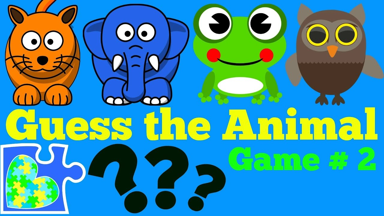 Guess The Animal Game For Kids 2 Rompecabezas De El