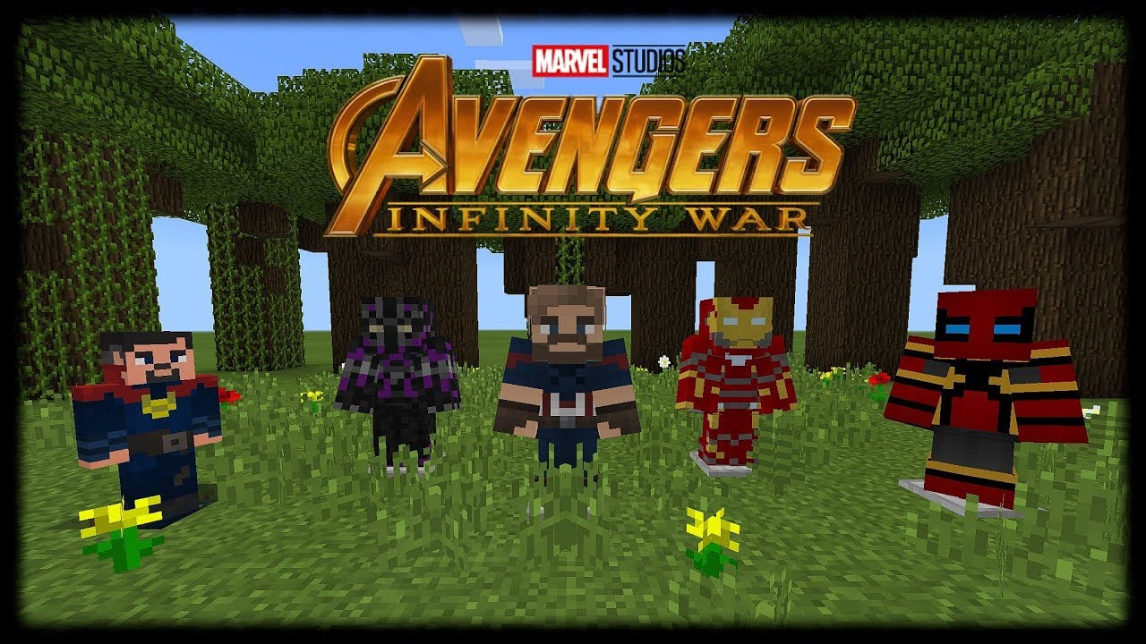 Avengers Infinity War Mods in Minecraft PE