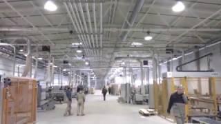 видео Увлажнение воздуха на текстильных фабриках