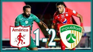 ⚽ América de Cali 1 - 2 La Equidad ⭐ 𝐋𝐈𝐆𝐀 𝐁𝐄𝐓𝐏𝐋𝐀𝐘 🏆 LIGA COLOMBIANA