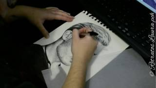 Drawing Jace Wayland (Dominic Sherwood), Shadowhunters - RETRATOS LAURA PCH