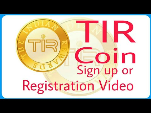 TIR COIN Registration Process Video The India Rewards Coin Best CryptoCurrency Indian CryptoCurrency