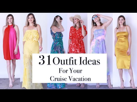 Cruise Outfit Ideas 2019 II What To Wear On A Cruise Ship II Cruise Captains Dinner 2019