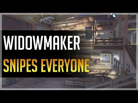 Widowmaker Snipes Everyone (Ft. Kragie)