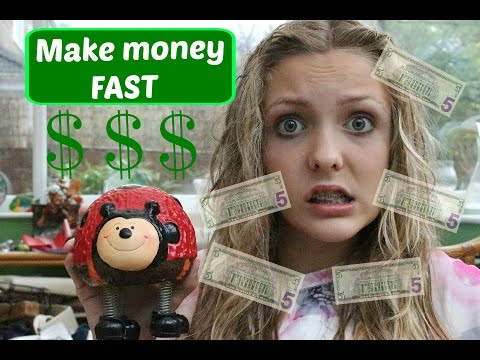 how to get money from youtube fast