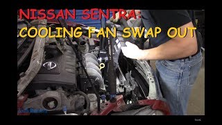 nissan-sentra-cooling-fan-replacement