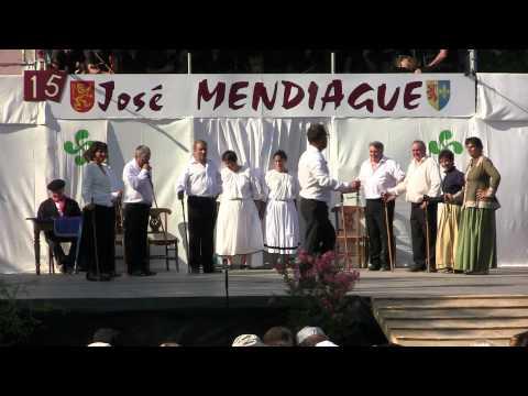 Pastorale du Pays Basque José Mendiague 2012, José Mendiague meurt von YouTube · Dauer:  8 Minuten 5 Sekunden