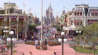 Magic Kingdom Time Lapse - Walt Disney World HD 1080p