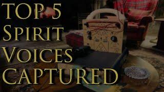 TOP 5 Spirit Box Best Of   Scottish Paranormal