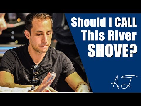Should I Call This River Shove? (Online Poker Strategy - Hand of the Day)