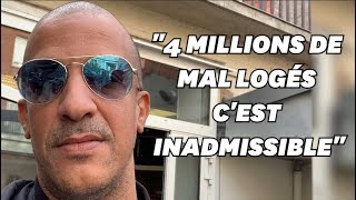 4 millions de mal-logés en France, c