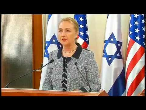 Secretary Clinton Delivers Remarks With Israeli Prime Minister Netanyahu