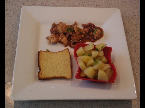 Almuerzo r pido y f cil en 15 minutos pollo y calamares youtube - Almuerzo rapido y facil ...