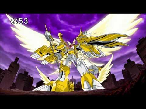 Digimon Xros Wars - Final Xros Shoutmon X7 Superior Mode HD