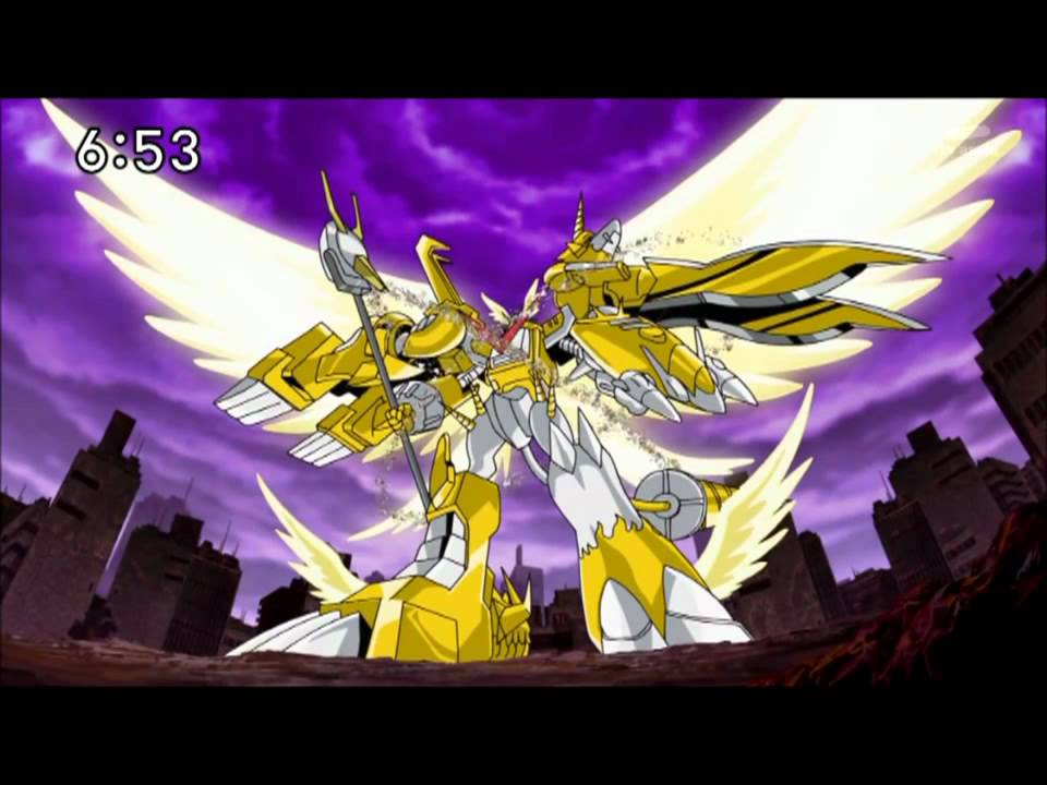 Digimon Xros Wars - Final Xros Shoutmon X7 Superior Mode ...