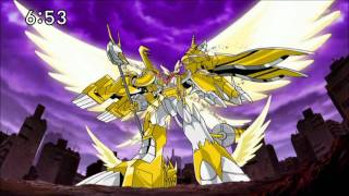 Digimon Xros Wars - Final Xros Shoutmon X7 Superior Mode HD