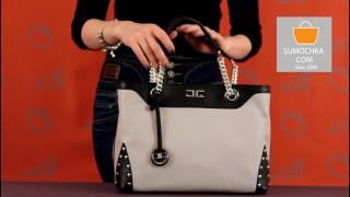 Классическая сумка Gianni Altieri 1603 ADRIA grey beige